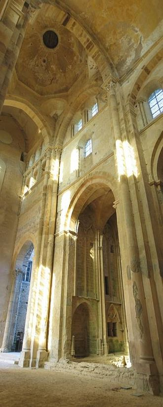 Hugh of Cluny - The interior of the abbey of Cluny
