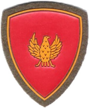 Mantova Mechanized Brigade - Coat of Arms of the Mechanized Brigade Mantova