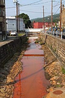 Coal Run (Shamokin Creek tributary) river in United States of America