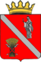 Coat of arms of Chernyshkovsky district with a crown 01.png