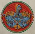 Coat of arms of Johann Jakob Faesch, rector of the University of Basel 2.jpg
