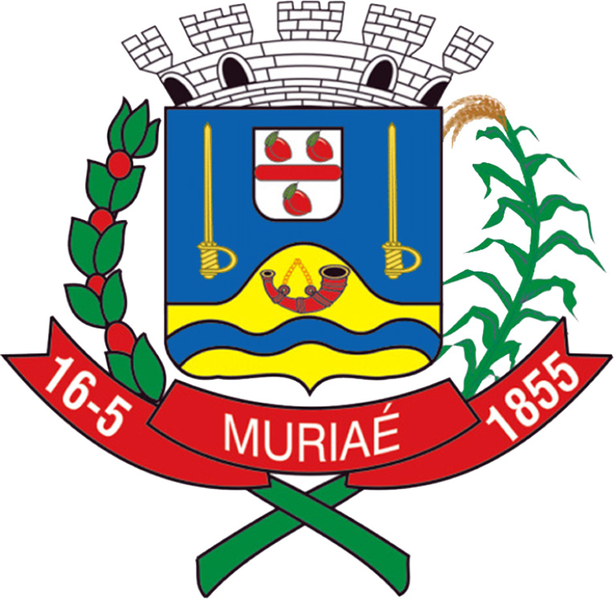 Ficheiro:Coat of arms of Muriaé MG.png