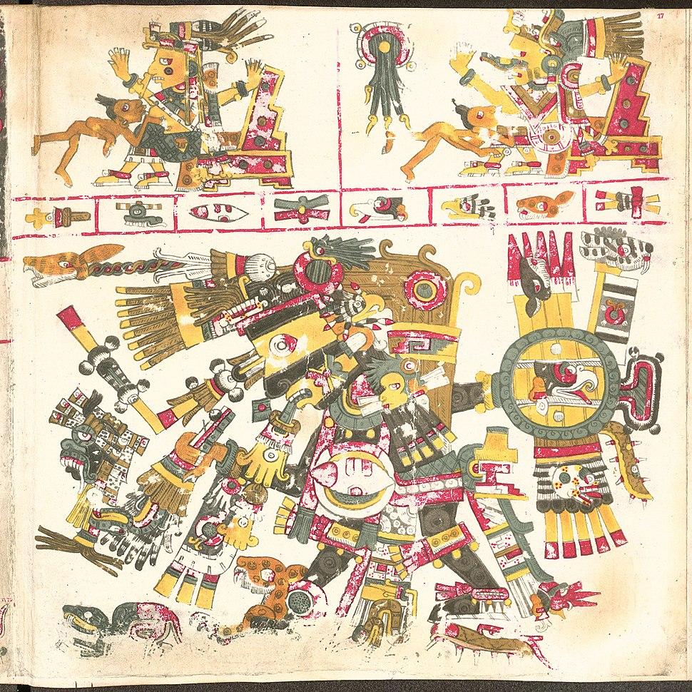 Codex Borgia page 17