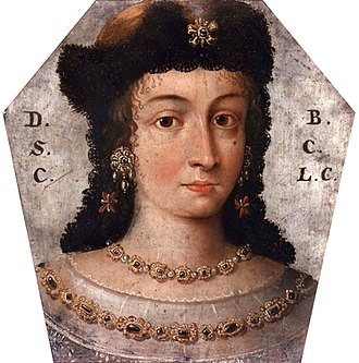 Polish–Lithuanian Commonwealth - Coffin portrait of Barbara Domicela Lubomirska née Szczawińska, 1676