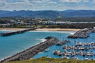 Coffs Harbour City in New South Wales, Australia