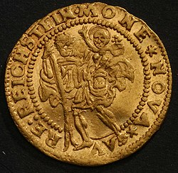 Coin of william rosenberg 1582 rv.JPG