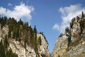 Le Locle - Col des Roches canyon