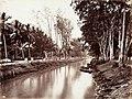 Collectie NMvWereldculturen, TM-60004951, Foto, 'Kali Tanah Abang, Batavia', fotograaf Woodbury & Page, 1860-1872.jpg