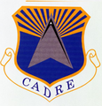 College for Aerospace Doctrine Research and Education emblem.png