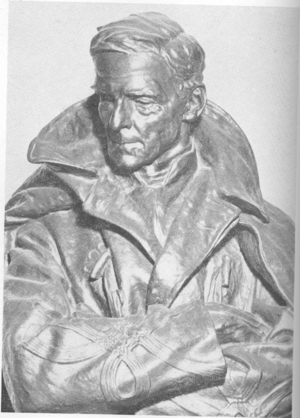Colonel Richard Owen (bust) - Image: Colonel Richard Owen bust
