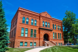 Colorado School of Mines - Engineering Hall, constructed in 1894