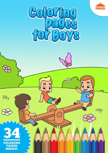 File Coloring Pages For Boys Printable Coloring Book For Little