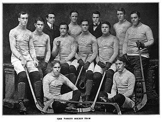 Columbia Lions - Varsity ice hockey team of Columbia University for the 1901–02 season.