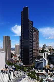 Columbia Center skyscraper in Seattle, Washington, United States