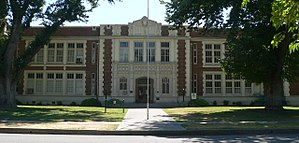 National Register of Historic Places listings in Colusa County, California - Image: Colusa, California city hall from NE 1