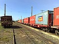 Comboio que passava sentido Boa Vista pelo pátio da Estação Pimenta em Indaiatuba - Variante Boa Vista-Guaianã km 217 - panoramio.jpg