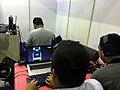 Comic Frontier 9 playing osu!.JPG