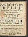 Commentarivs belli aduersum Turcas ad Viennam et in Hungaria 1684 (105138051).jpg
