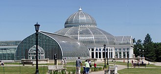 Como Park Zoo and Conservatory - The Marjorie McNeely Conservatory at Como Park