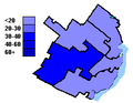 Conservative Party of Canada election results, Quebec City 2004.PNG