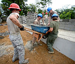 Construction continues at Gabriela Mistral Primary School site 150603-F-LP903-540.jpg