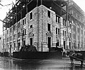 Construction of Sun Life building, Dorchester St., Montreal, 1923.jpg