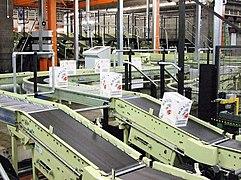 Conveyor system at Chivas Brothers Ltd in Dumbarton.jpg
