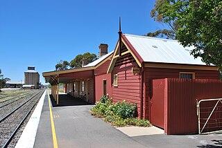 Coolamon railway station