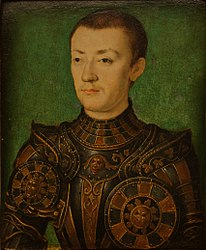 Corneille de Lyon: The Dauphin Henri. 1536-1537