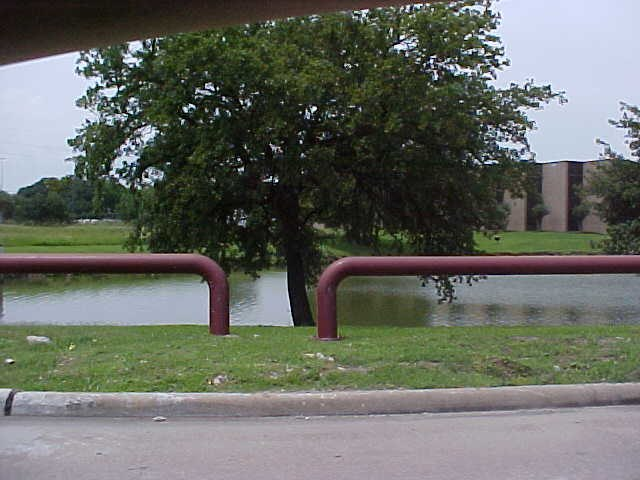 Corporate Park retention basin (Stafford, Texas)