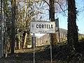 Cortelà, frazione di Vo', cartello stradale.jpg