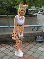 Cosplayer of Serval, Kemono Friends at CWT49 20180812b.jpg