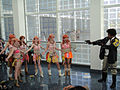 Cosplayers of Oerba Dia Vanille from Final Fantasy XIII, Anime Expo 20100702.jpg