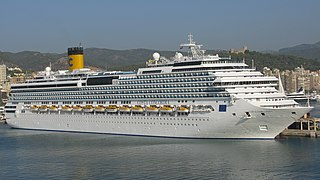 <i>Costa Concordia</i> Cruise ship that ran aground in 2012 maritime accident