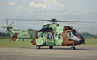 Albanian Air Force - Albanian Air Force AS532