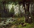 Courbet - Deer in the Woods, circa 1839-1877.jpg