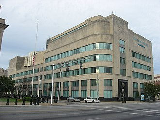 The Courier-Journal - Courier-Journal offices in downtown Louisville, built during the Bingham era