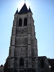 The church of Courrières
