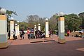 Courtyard - Vikramshila Building - Srinivasa Ramanujan Complex - Indian Institute of Technology - Kharagpur - West Midnapore 2015-01-24 4909.JPG