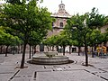 Courtyard of Seville Cathedral - 2013.07 - panoramio.jpg