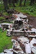 Crashed Dornier Do 17M-1 Hansakollen, Maridalen Oslo (2)