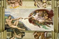 Michelangelo: A creación do home