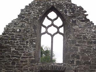 Creevelea Abbey - Image: Creevelea Window