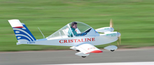 French Electric Aircraft MC15E Cri-Cri