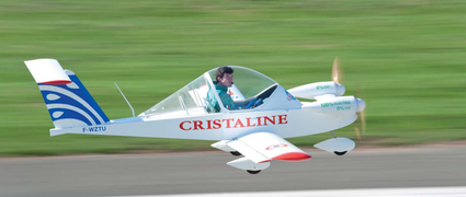 French Electric Aircraft MC15E Cri-Cri.
