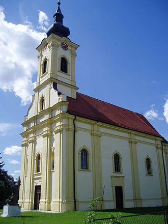 Drenovci - Image: Crkva u Drenovcima 1