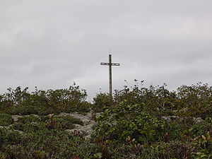 The cross of the