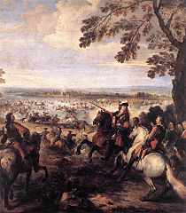 The Crossing of the Rhine by the Army of Louis XIV, 1672