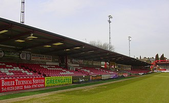 Crown Ground - Image: Crown Ground Main stand geograph 1761366