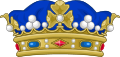Crown of a Marquis of France.svg